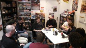 Samedi 4 mars : Rencontre autour du Jeu de Rôles
